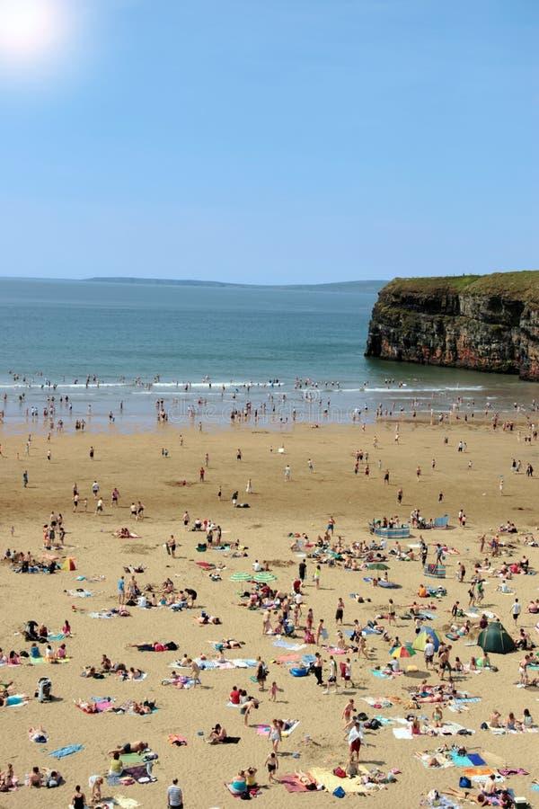 ballybunion gorący plażowy zdjęcie stock