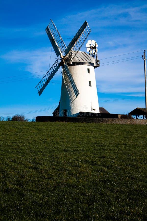 Ballycopeland Windmill stock photo