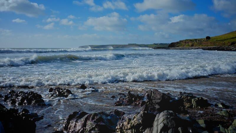 Ballycroneen海滩 免版税库存照片