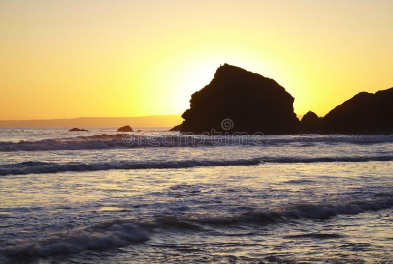 Ballyduane Sonnenuntergang stockbilder