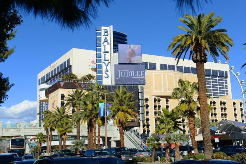 Ballys, Las Vegas, Nanovolt lizenzfreie stockbilder