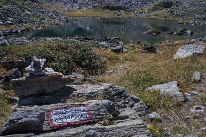 Balma do lago imagem de stock