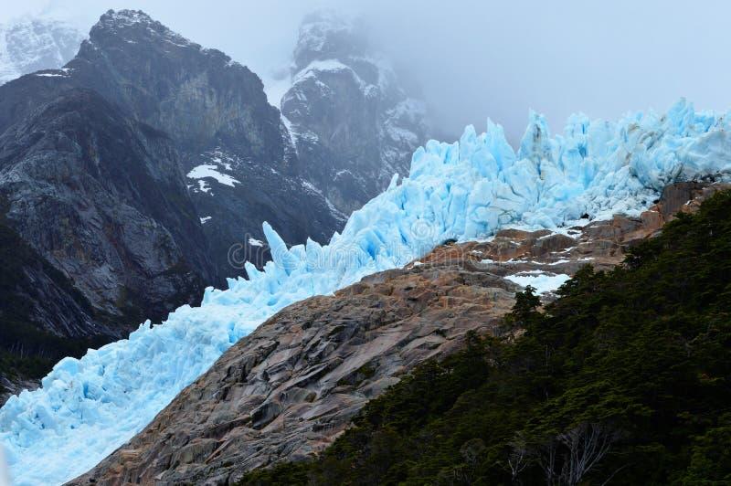 Balmaceda lodowiec obrazy stock