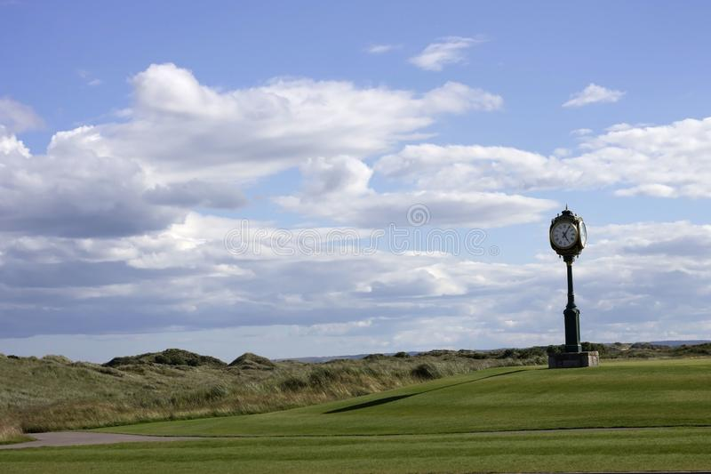 Donald Trump`s International Golf Links. Balmedie, Aberdeenshire, Scotland stock photography