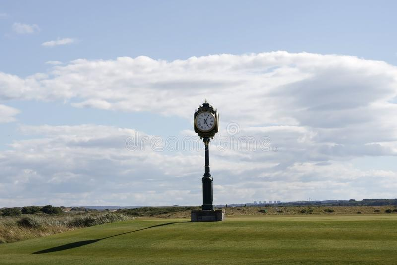 Donald Trump`s International Golf Links. Balmedie, Aberdeenshire, Scotland royalty free stock photos