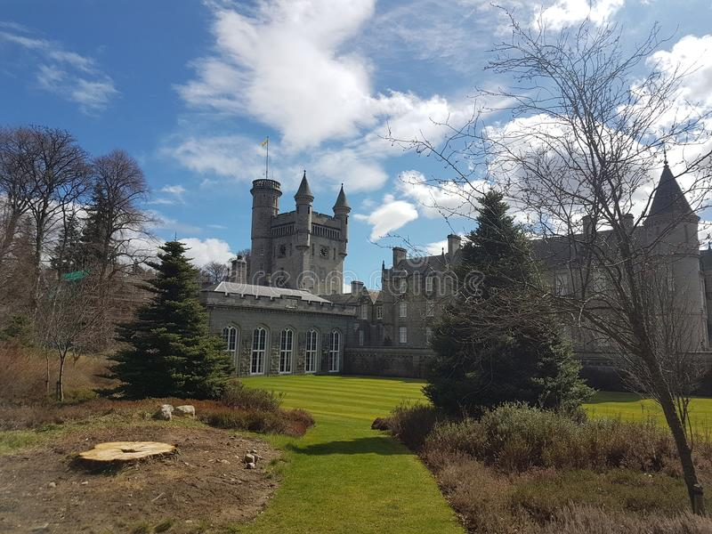 Balmoral Castle stock images