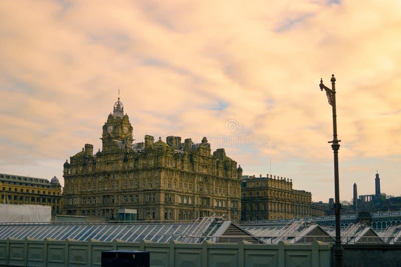 Balmoral Edimburgo immagine stock libera da diritti