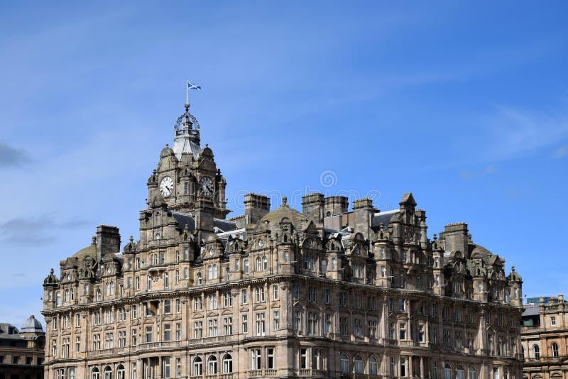 The Balmoral Hotel - Edinburgh royalty free stock images