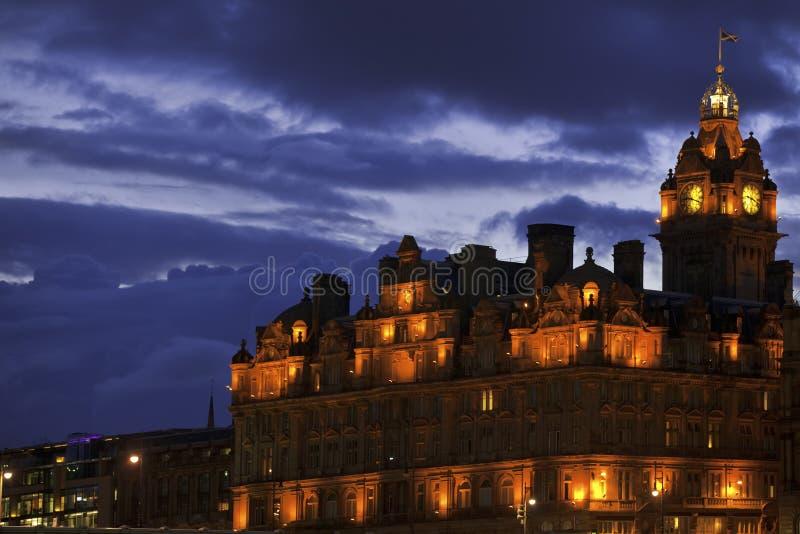 Balmoral Hotel. Edinburgh, Scotland Stock Photos