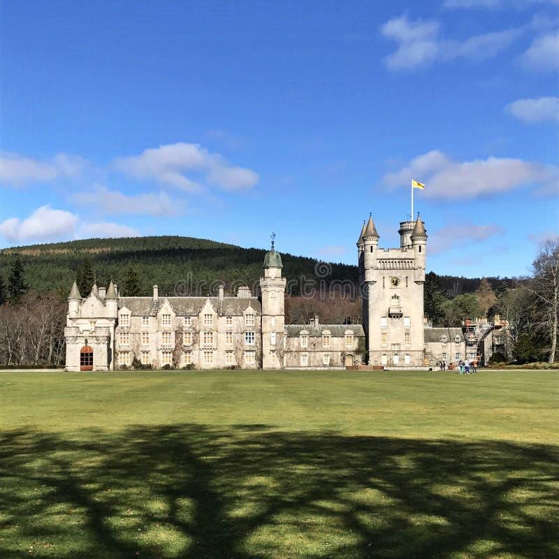 Balmoral-Schloss Schottland stockbilder