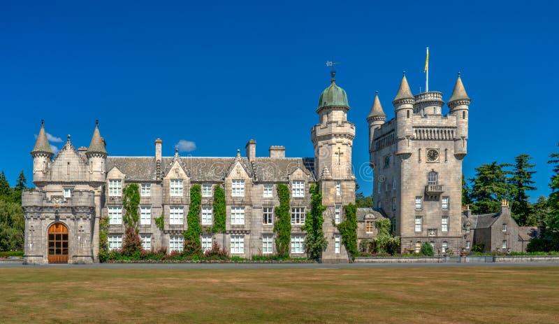 Balmoralkasteel, Koninklijke Woonplaats, Schotland royalty-vrije stock foto's