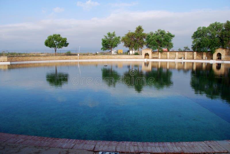 Balmorrhea pool. Natural spring fed pool stock photography