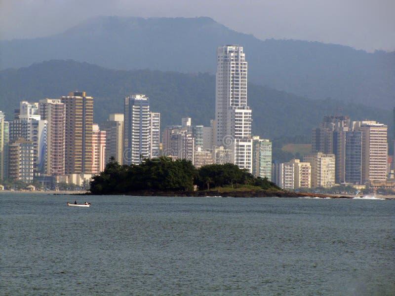 Balneario Camboriu -巴西 免版税库存照片