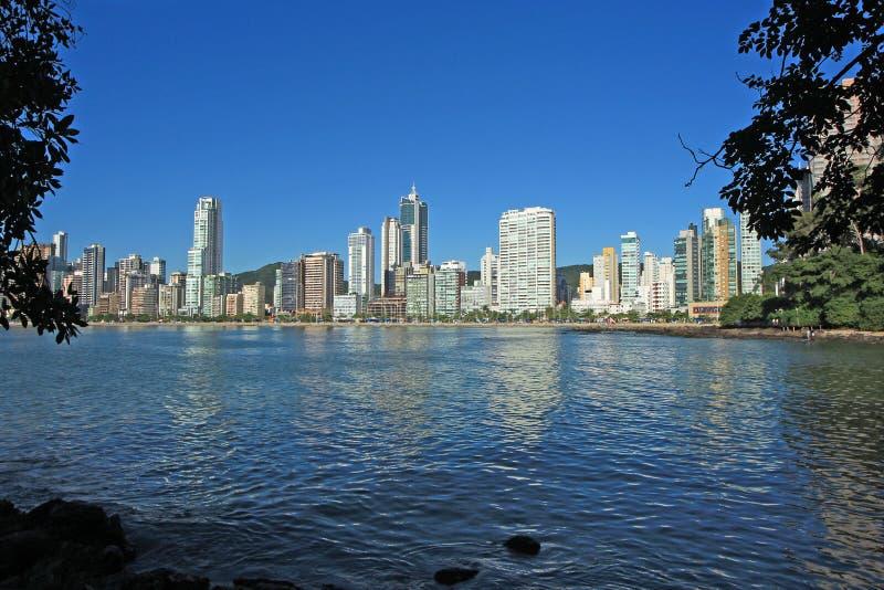 Balneario Camboriu - Brasilien stockfoto