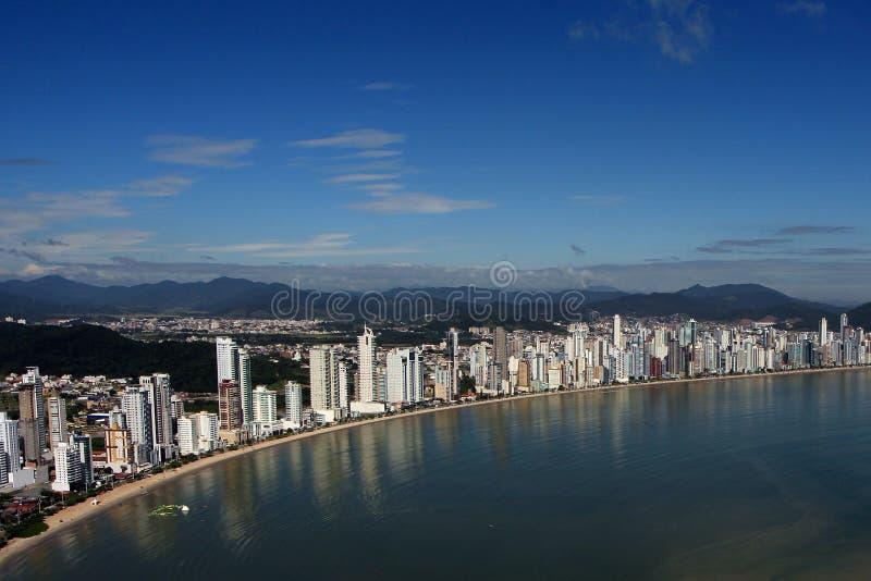 Balneario Camboriu - il Brasile fotografie stock