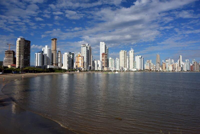 Balneario Camboriu - il Brasile fotografia stock libera da diritti