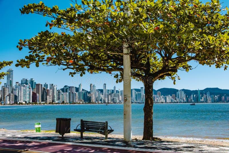Balneario Camboriu, Santa Catarina, Brasile immagine stock