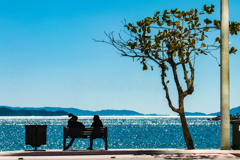 Balneario Camboriu, Santa Catarina, Brasilien lizenzfreie stockfotografie