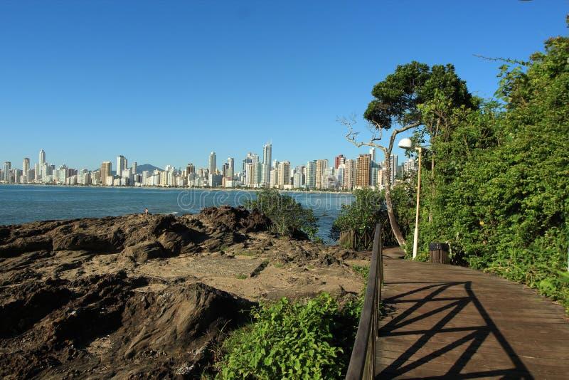 Balneario Camboriu - Santa Catarina - Brazilië royalty-vrije stock foto