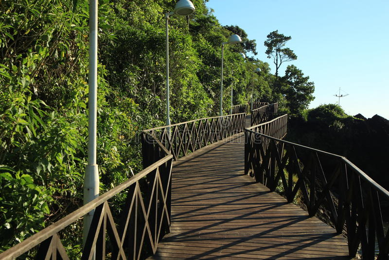 Balneario Camboriu, Santa Catarina, Brazylia - obraz stock