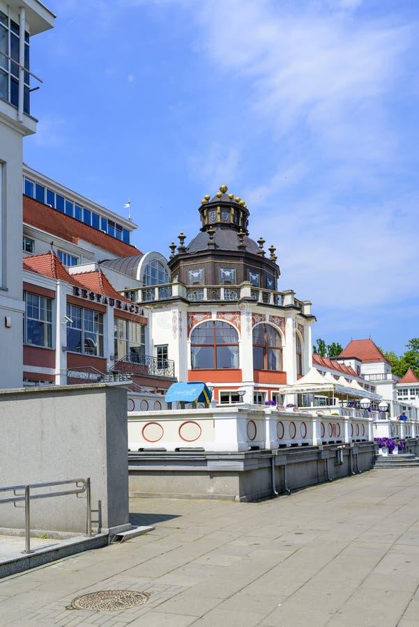 BALNEARIO de Sopot fotos de archivo libres de regalías