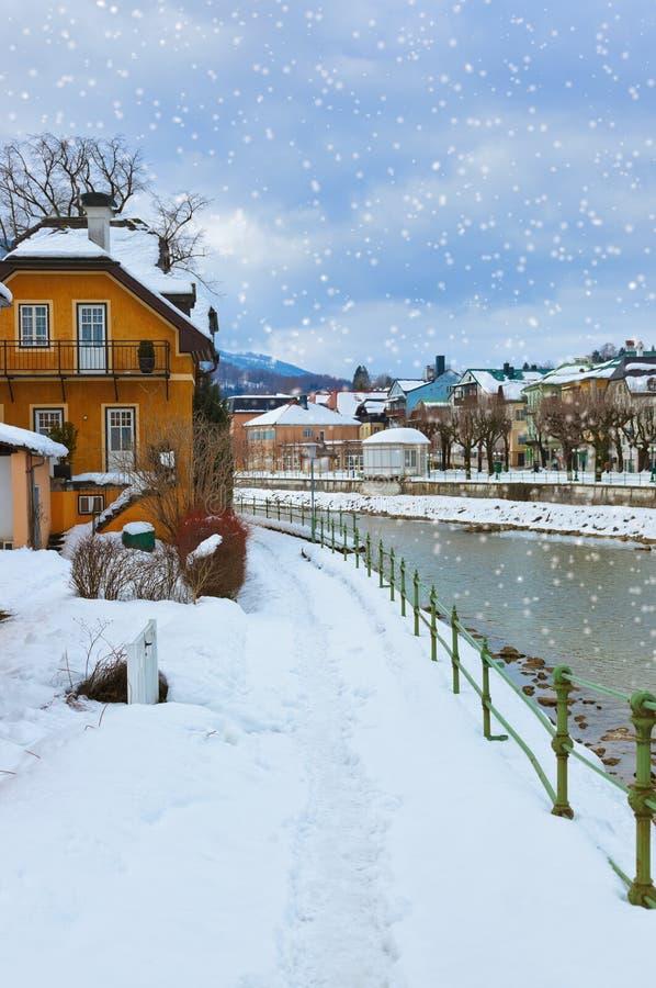 Balneario mún Ischl - Austria fotografía de archivo libre de regalías