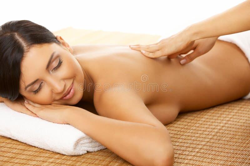 Balneario y masaje foto de archivo libre de regalías