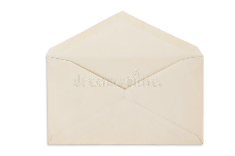 balnk απομονωμένο φάκελος ανοικτό λευκό στοκ εικόνες με δικαίωμα ελεύθερης χρήσης