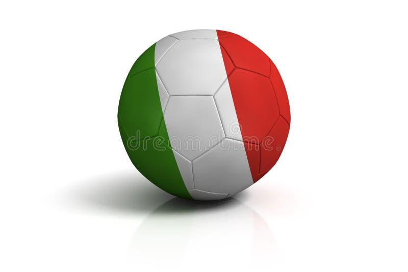 Balompié Italia stock de ilustración