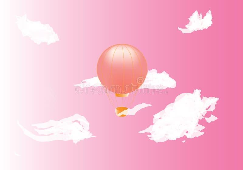 Balonów sen royalty ilustracja