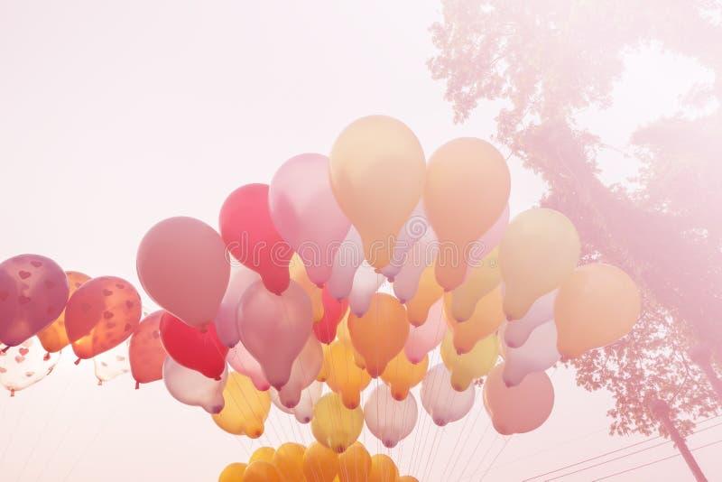 Balon na niebie obraz stock
