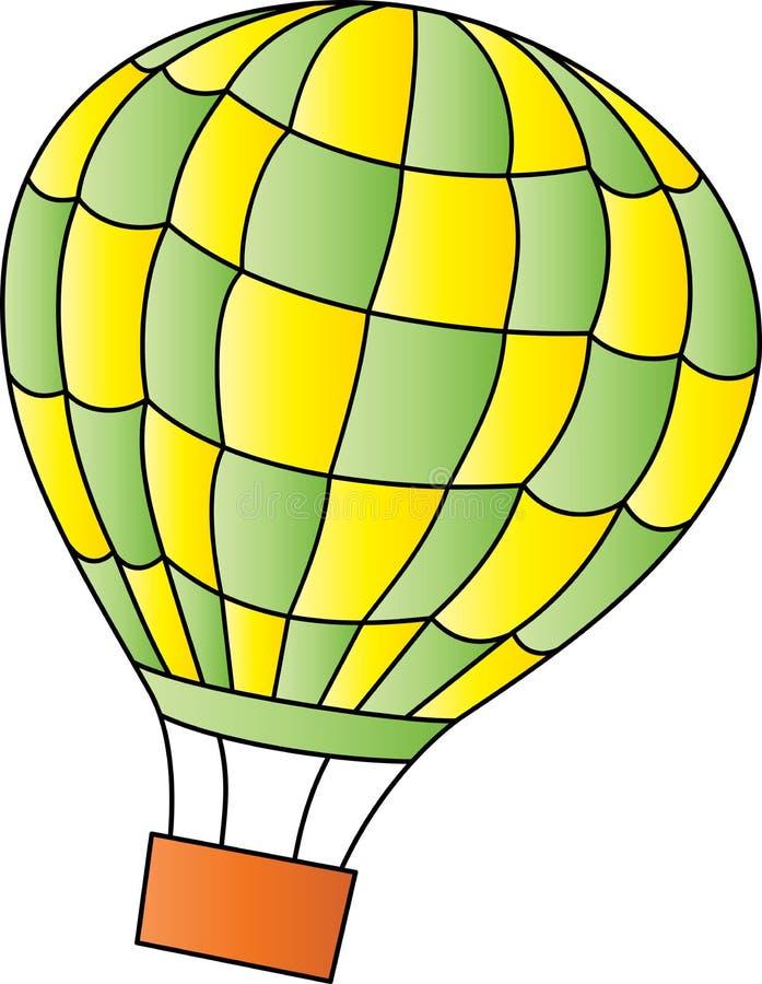 balon powietrza bealton latający cyrk gorąco show photgrphed va ilustracji