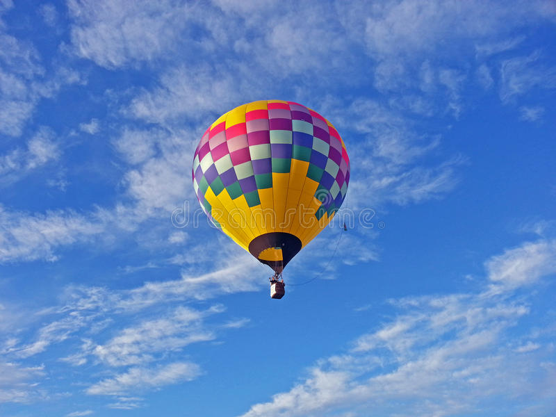 balon powietrza bealton latający cyrk gorąco show photgrphed va obraz royalty free