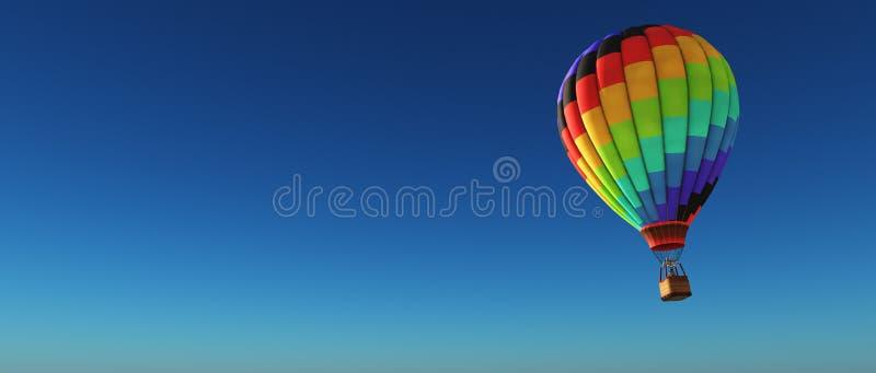 balon powietrza bealton latający cyrk gorąco show photgrphed va royalty ilustracja