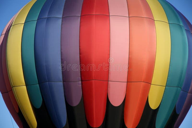 balon powietrza blisko gorąco, obraz stock