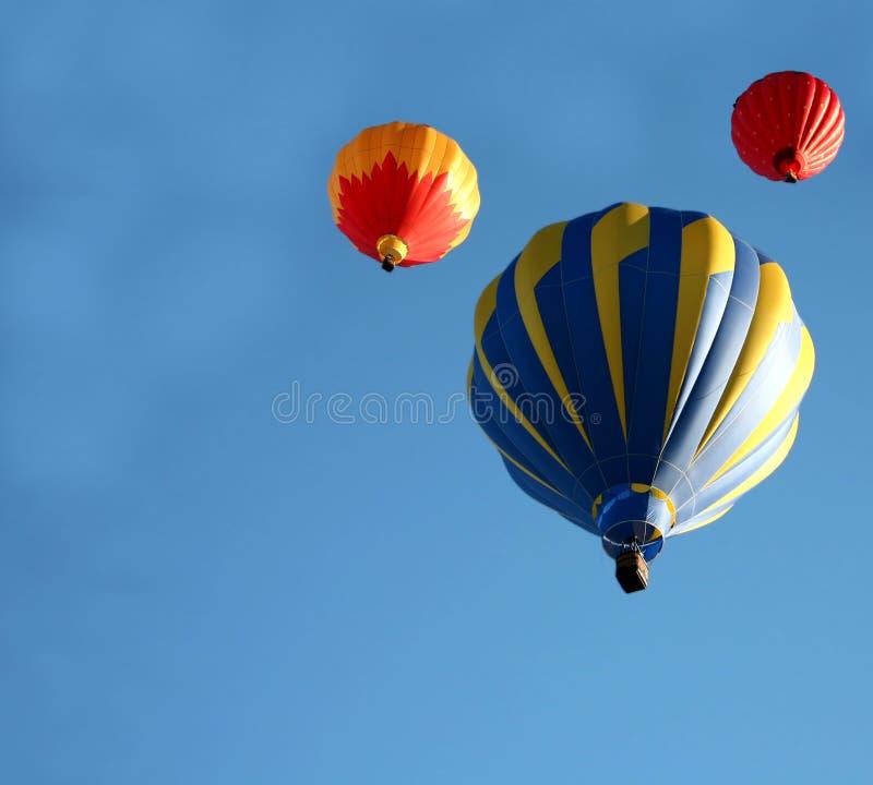 balon powietrza gorąca jazda fotografia stock