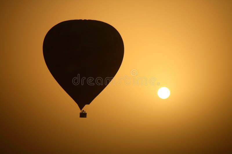balon powietrza gorące słońce obraz royalty free