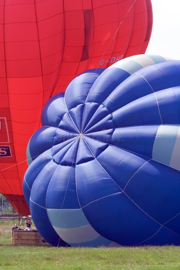 balon powietrza na festiwal gorąco zdjęcia stock