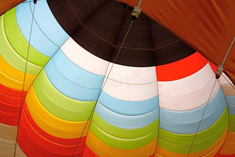 balon powietrza szczegół gorąco fotografia stock
