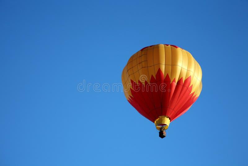 balon powietrza zbliżenia gorąca jazda zdjęcie stock
