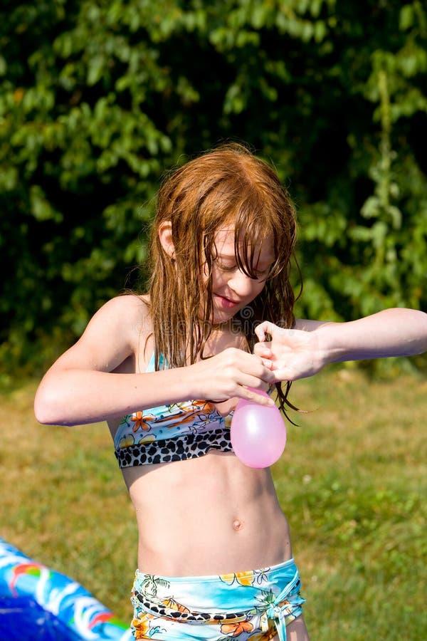 balon woda obrazy stock