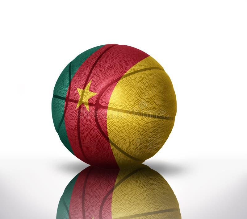 Baloncesto del Camerún imagen de archivo libre de regalías