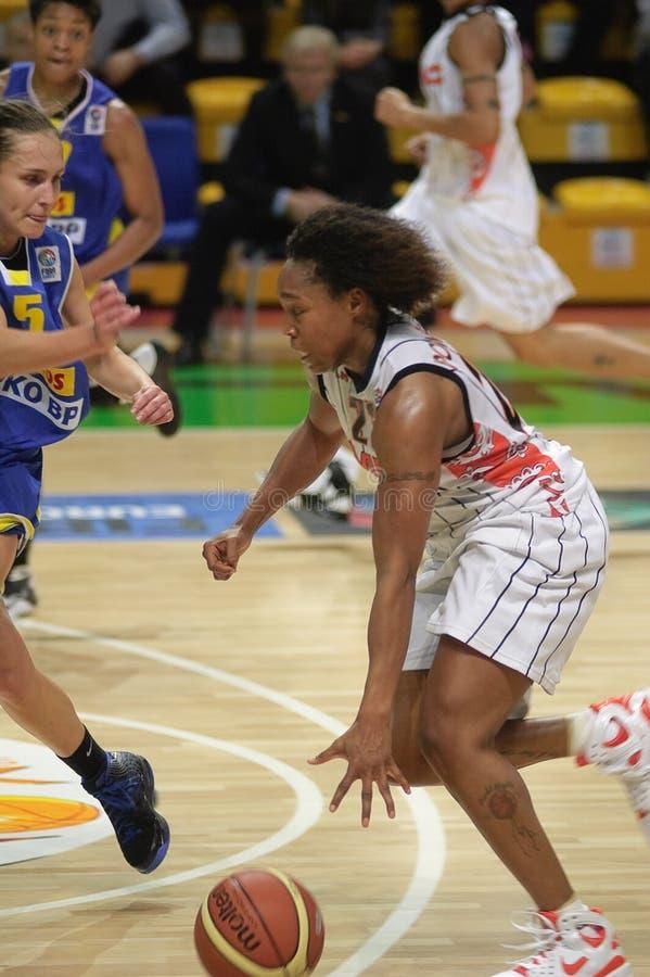 Baloncesto Euroleague de las mujeres fotos de archivo