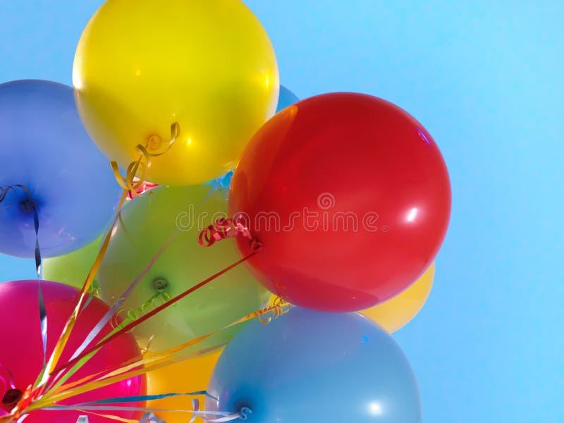 Balones de aire coloridos imagen de archivo libre de regalías