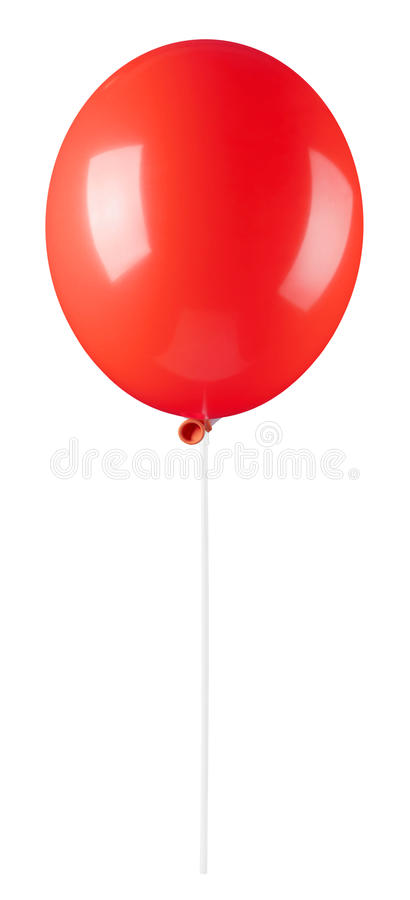 balonowa czerwień fotografia royalty free