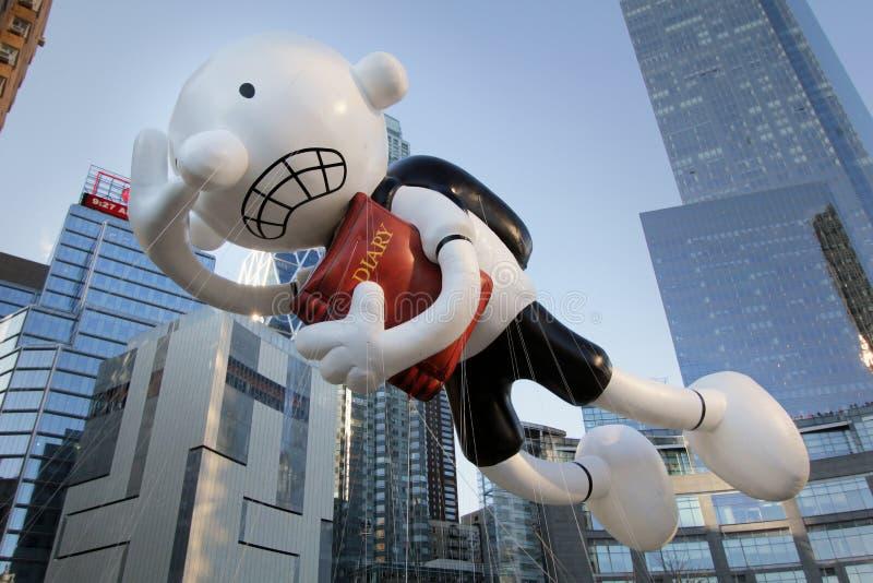 balonowa dzienniczka dzieciaka macy parada s balonowa fotografia stock