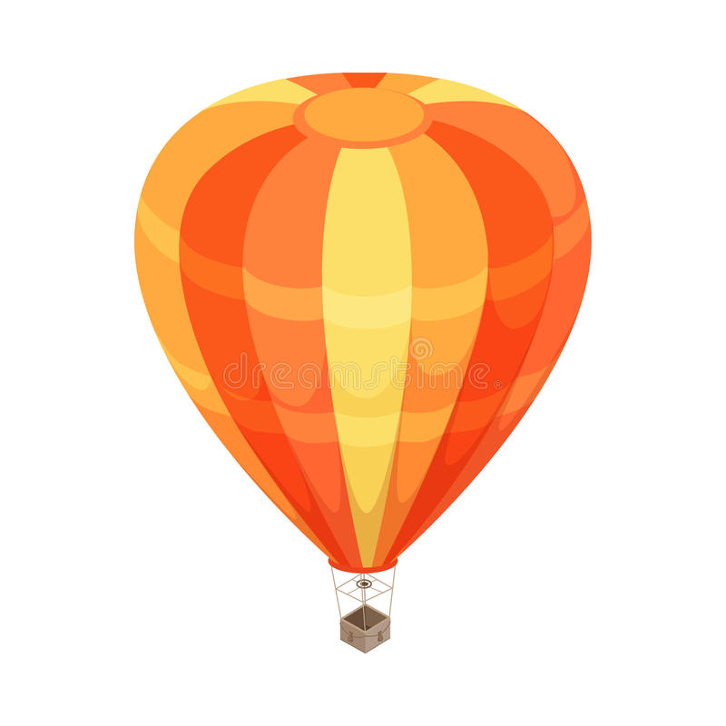 Balonowa Wektorowa ikona w Isometric projekci ilustracja wektor