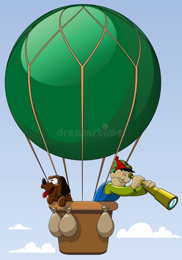 balonowa zieleń ilustracji