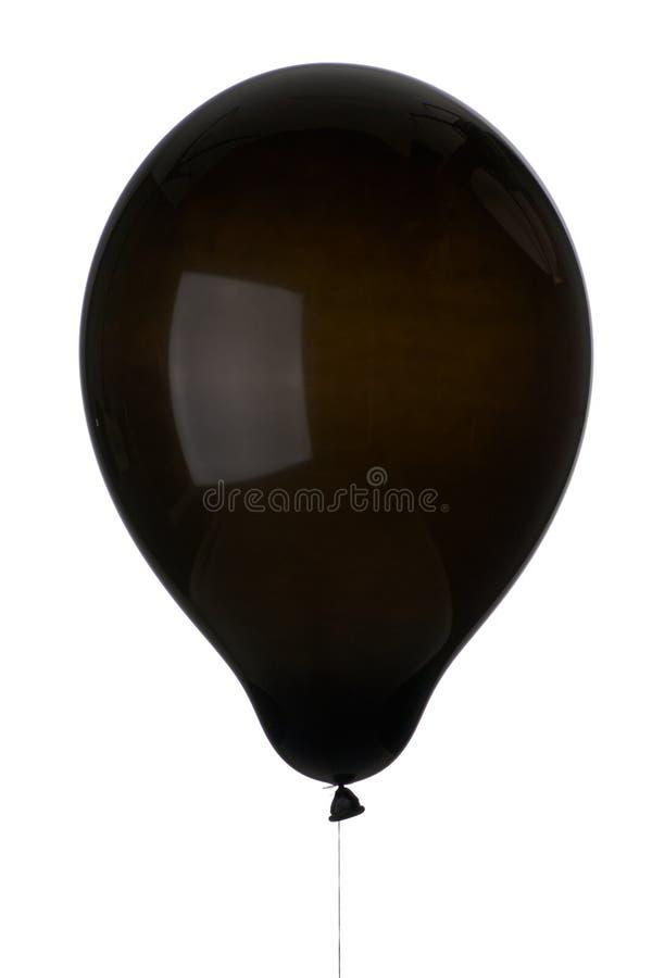 balonowy czerń zdjęcie royalty free