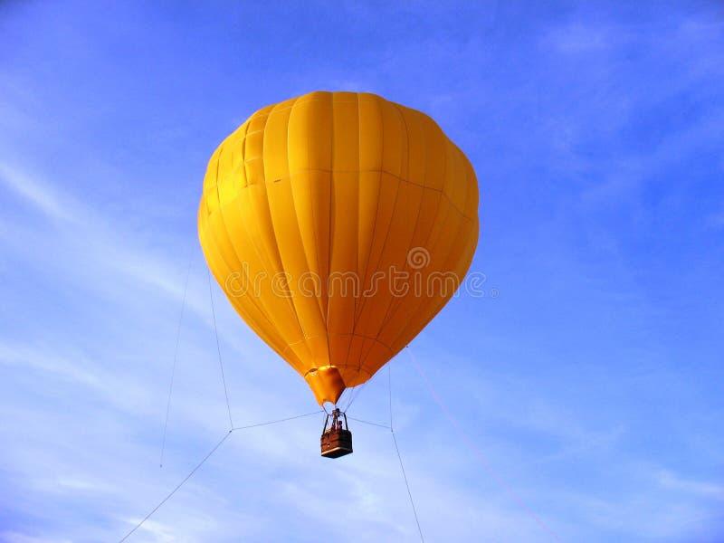 balonowy kolor żółty fotografia stock
